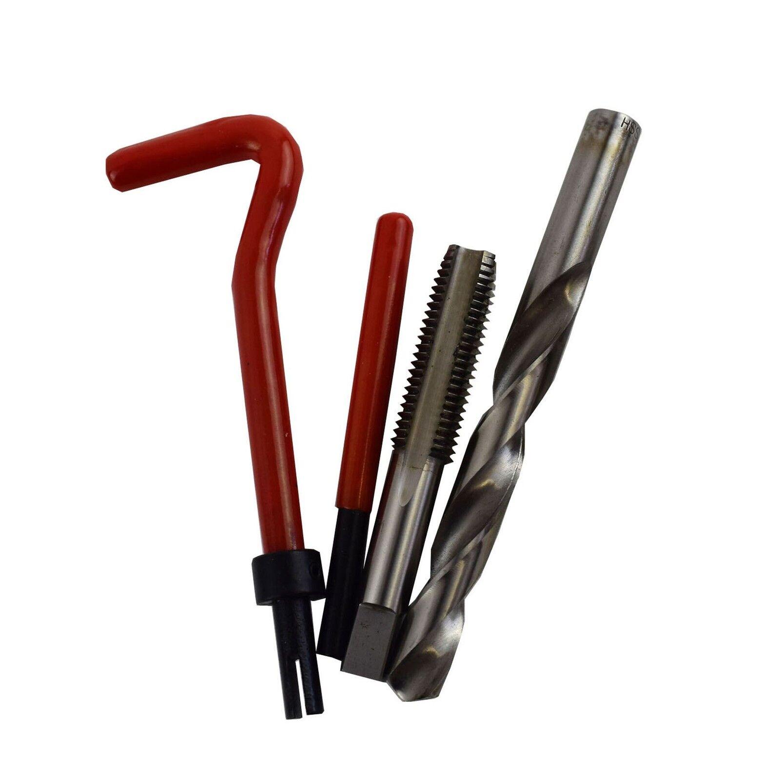 1 2  x 13 Imperial UNC Touchez Kit réparation HELICOIL filets endommagés 14pc K
