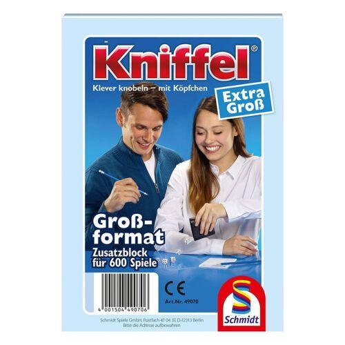 Schmidt Jeux Extra Grand Kniffel Bloc additif Bloc 600 jeux jeu de société