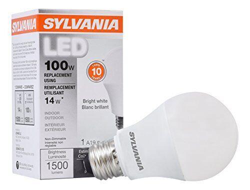 SYLVANIA Home Lighting 78098 A19 SYLVANIA LED Light Bulb 100w ...