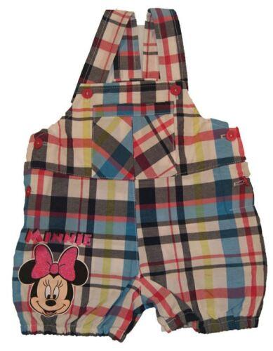 Neu 56//62//68//74//80 Minnie Mouse Baby Latzhose kariert Gr