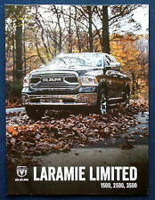 Prospekt brochure 2016 Dodge Ram Laramie 1500 2500 3500 Pickup (USA)