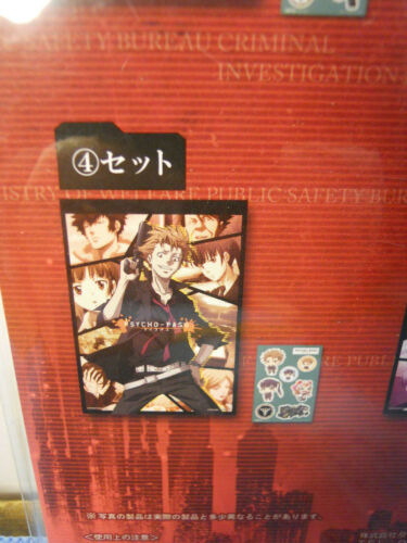 Details about  /Taito Psycho-Pass Notebook /& Sticker set
