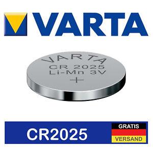 1 X Varta Cr2032 3v Batterien Knopfzelle Frische Markenqualität Knopfzellen Online Rabatt Einweg-batterien