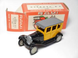 Citroen-B-2-B2-034-Premiere-tout-acier-1925-034-RAMI-R-A-M-I-J-M-K-in-1-43-boxed