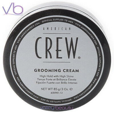 AMERICAN CREW (Grooming Cream, Extra Hold, High Shine, Styling Paste, 3oz)