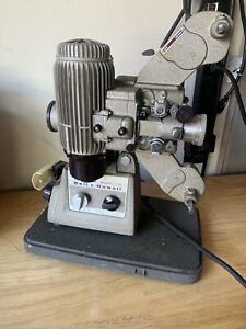 Bell-amp-Howell-Filmo-Diplomat-16mm-Film-Projector-Design-173-w-Case-Tested
