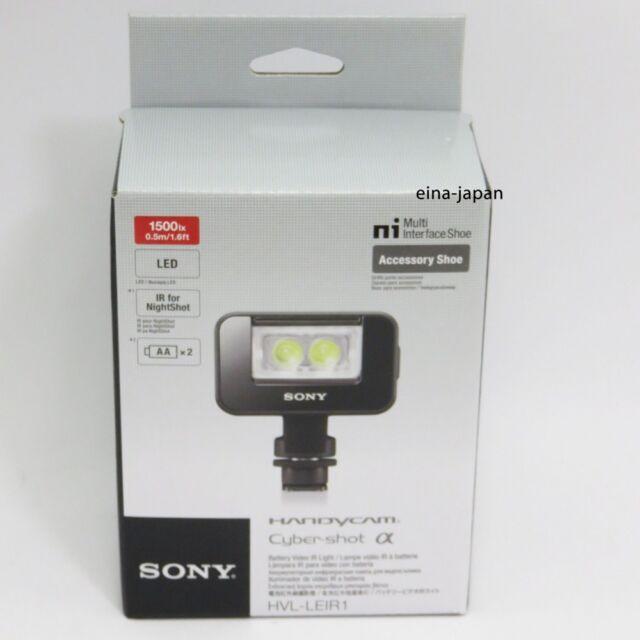Official Sony HVL-LEIR1 LED Video Infrared IR Light Alpha Handycam From Japan
