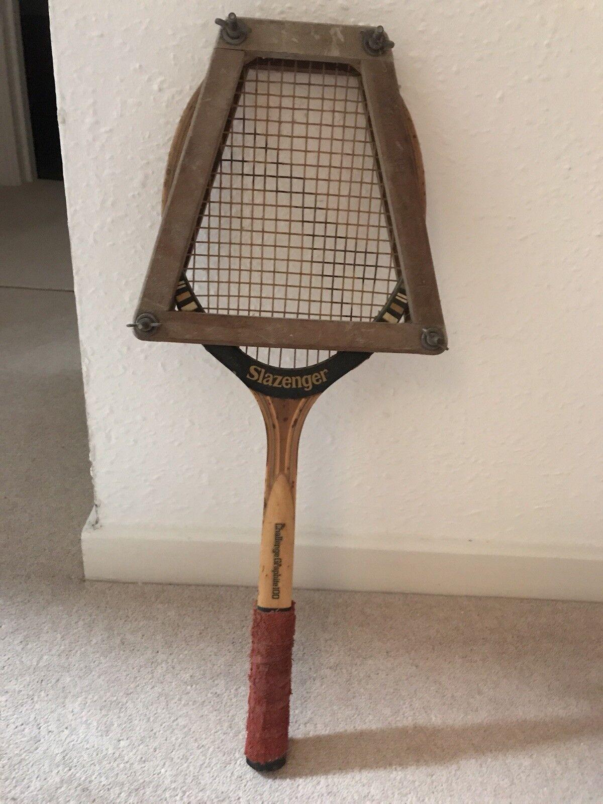 Slazenger Challenge Graphite 100 Tennis Wooden Raquet