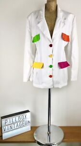 Vintage-90s-White-Jacket-With-Neon-Accents-Size-14