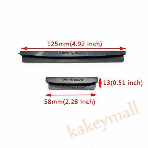 8X Black Auto Car Door Edge Protector Scratch Strip Guards Bumper Kit Set Parts