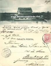 colombia, BARRANQUILLA, Como se Viaja en el Rio Magdalena (1905)  Flohr, Price