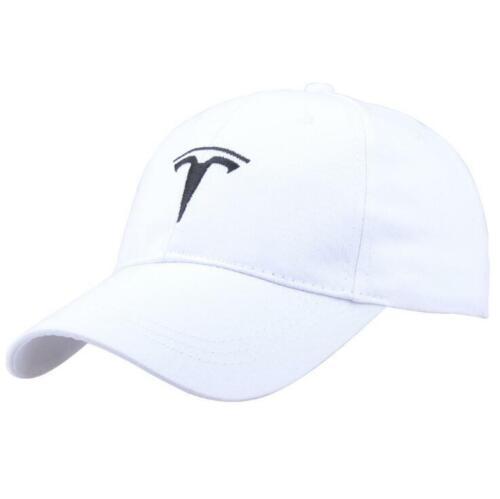 Cool Car TESLA Motor Hat Trucker Mesh Baseball Cap Trendy Model Adjustable Black