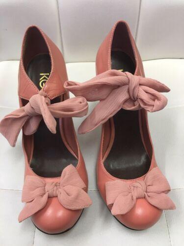Coral Ribbon Size Geiger 4 Kurt Shoes Hq5vRxn1w