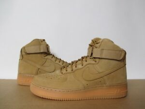 newest af1e5 33ab2 Image is loading NIKE-AIR-FORCE-1-WB-LV8-HIGH-WHEAT-