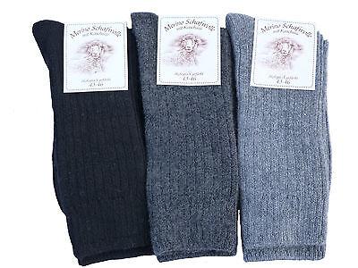 Socken Wollsocken Merino Schafwolle mit Kaschmir Schurwolle 35-46 EXTRA  WEICH
