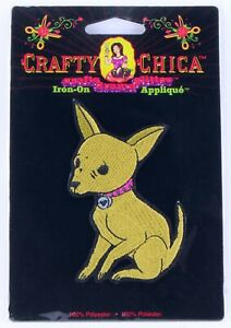 Crafty Chica Chihuahua Iron-On Applique by Kathy Cano-Murillo