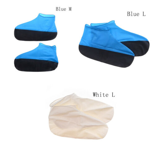 Waterproof Shoe Cover for Men Women Shoes Elasticity Latex Easy Overshoes nPTHP0
