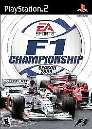 F1 Championship Season 2000 Sony PlayStation 2 PS2 With Manual Tested Mint Disc
