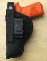 Hip Holster For Jennings & Bryco Model 59 Ambidextrous Clip-on Or Belt Loop