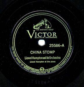 LIONEL HAMPTON on 1937 Victor 25586 - China Stomp / Rhythm Rhythm