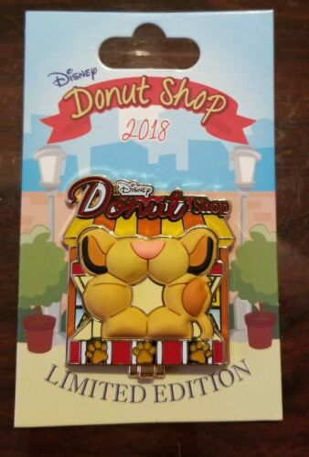 Simba Lion King Donut Shop 2018 Pin Disney Pin of the Month Limited Edition 3000