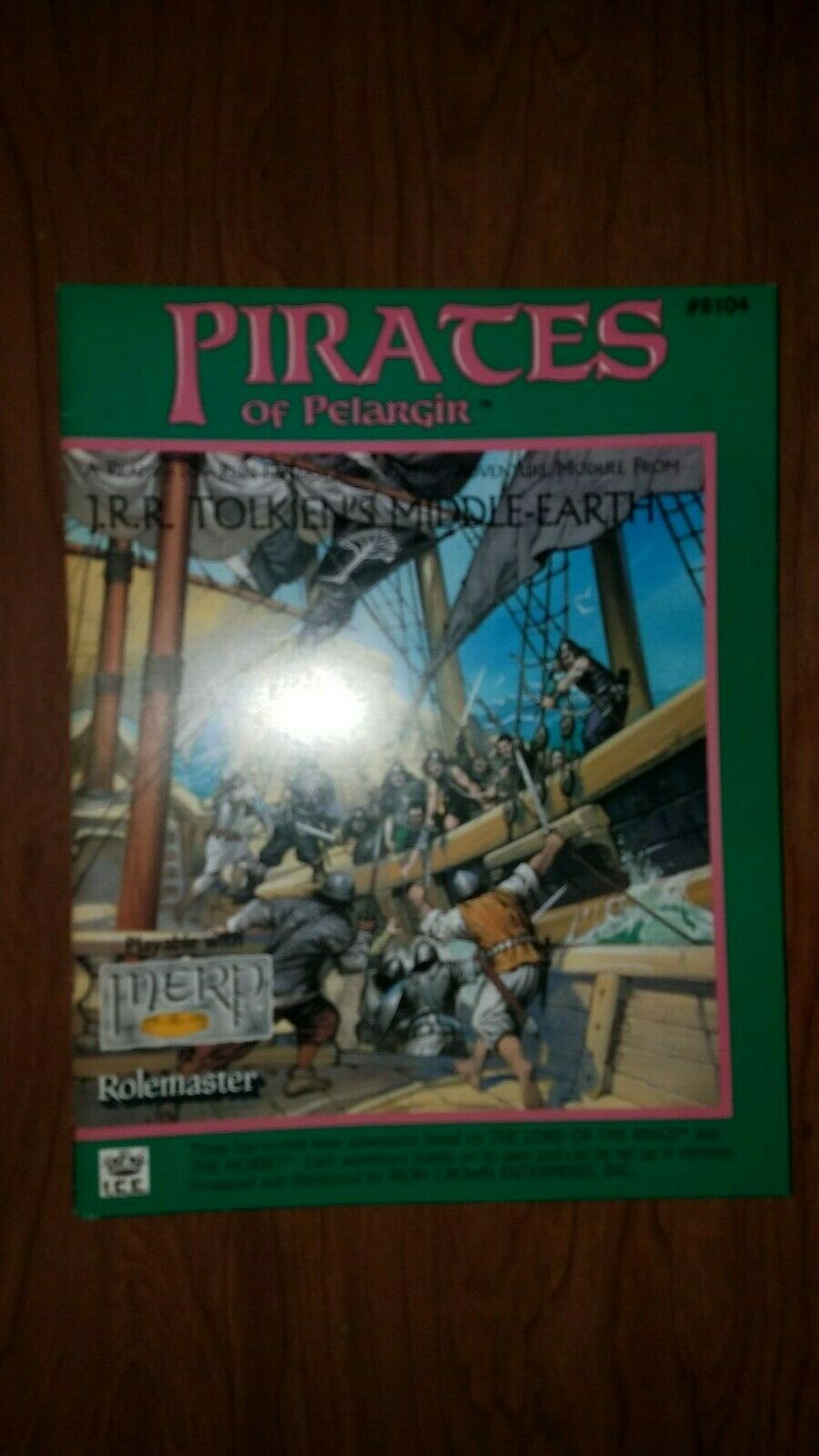 ICE  Middle-Earth Role Playing Rolemaster Module - PIRATES OF PELARGIR