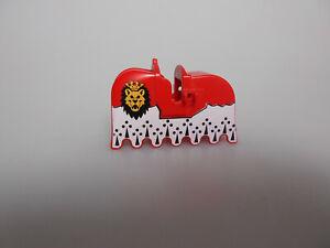 Lego® Castle Zubehör 1x Pferde Decke Schabracke Barding  aus Set 6091  6098