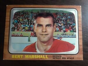 1966-topps-51-BERT-MARSHALL-COND-EX