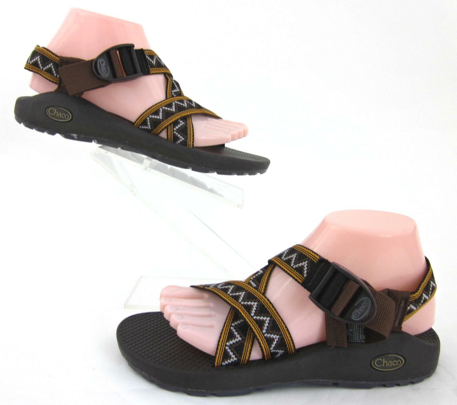 NEW  Chaco Mens Z 1 Classic Sandals marrón Aztec Print US 7