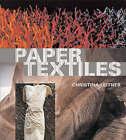 Paper Textiles by Christina Leitner (Hardback, 2005)