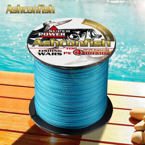 Japanese-Super-Strong-PE-Braided-Fishing-Line-500M-Multifilament-Blue-6-100LBS