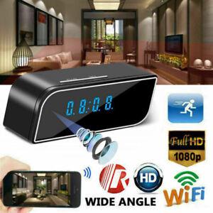 1080P-Camara-Wifi-Alarma-Vision-Nocturna-Seguridad-Inalambrica-Oculta-Dvr