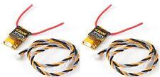 2 X New OrangeRx R110x 2.4Ghz DSMX/DSM2 Satellite Receiver 2.4Ghz 12 Channels