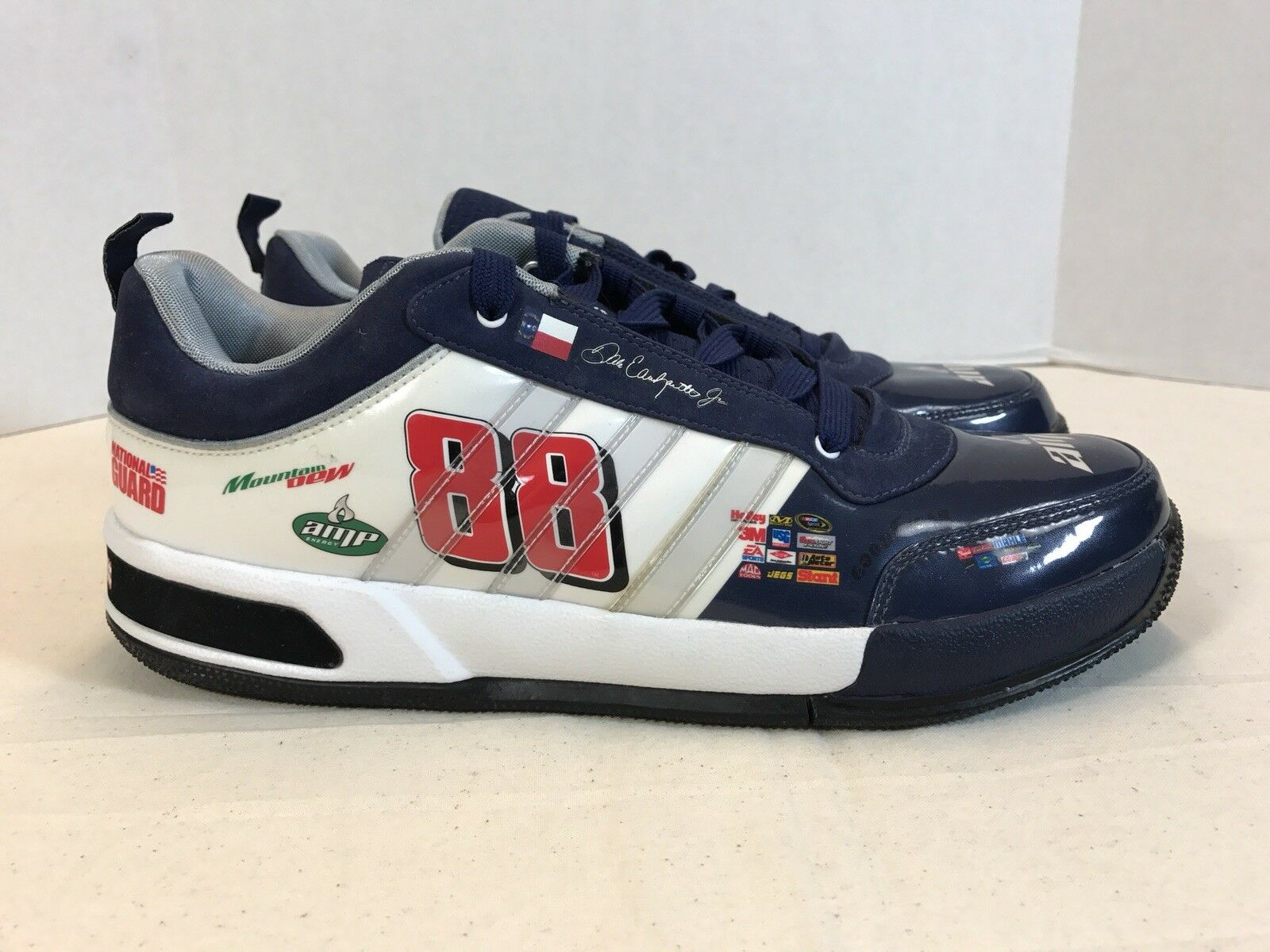 1-of-1 muestra Adidas Dale Earnhardt Jr. Zapatos   9   DS   Superstar Boost