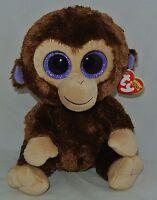 Ty Beanie Boos Coconut The Monkey 6 Size