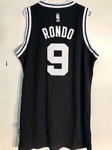 3d6f3d5ae22 Image is loading Adidas-Swingman-NBA-Jersey-BOSTON-Celtics-Rajon-Rondo-