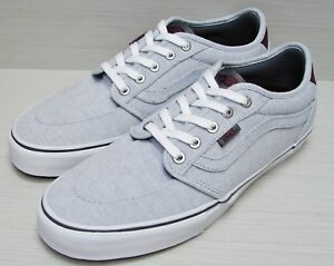 Port Hommes Taille 8 Lindero 2 Vans Chambray Grey 9IWE2YbeDH
