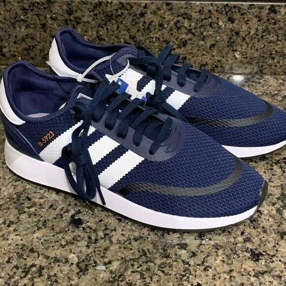 New Adidas mens N-5923 sneaker shoe navy size 10.5