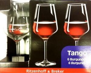 R-amp-B-Ritzenhoff-amp-Breker-Rotweinglaeser-Tango-53cl-6-Stueck-Weinglas-NEU-OVP