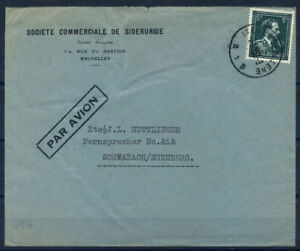 Belgio-1943-Busta-80-Schwabach-Norimberga