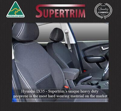 100/% Waterproof Premium Neoprene Seat Cover Fits Hyundai IX35 FB+MP