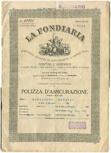 POLIZZA-Assicurazione-Incendio-La-Fondiaria-Ag-Gen-Roma-1925-m