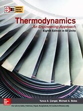 Thermodynamics: an Engineering Approach by Yunus A. Cengel and Michael A. Boles (2014, Hardcover, 8th Edition)
