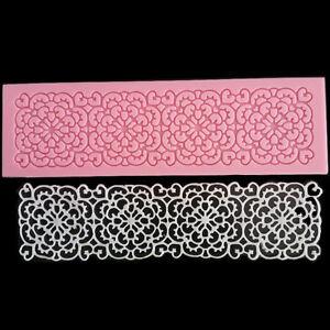 Lace-Flower-Embossed-Mat-Silicone-Fondant-Cake-Decorating-Sugarcraft-Mould-Mold