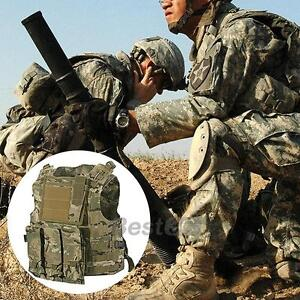 SWAT-Army-Combat-Paintball-Vest-Adjustable-Light-Camouflage-Nylon-MOLLE-Military