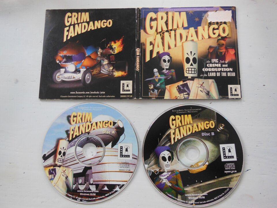 Grim Fandango (Lucas Arts), til pc, adventure