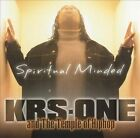 Spiritual Minded by Temple of Hiphop/KRS-One/KRS-One & The Temple Of Hiphop (CD, Jan-2002, Koch (USA))