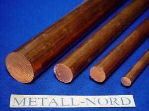 Kupfer-Rundmaterial-40-x-150mm-E-Cu-Halbzeug-Copper-Rund-CNC-Metall