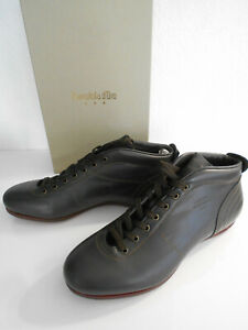 Details zu Schuhe sneaker Leder dunkelbraun Pantofola d´oro Vintage Klassiker 44