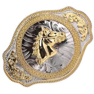 Hebilla-del-cinturon-de-la-aleacion-del-caballo-de-oro-del-caballo